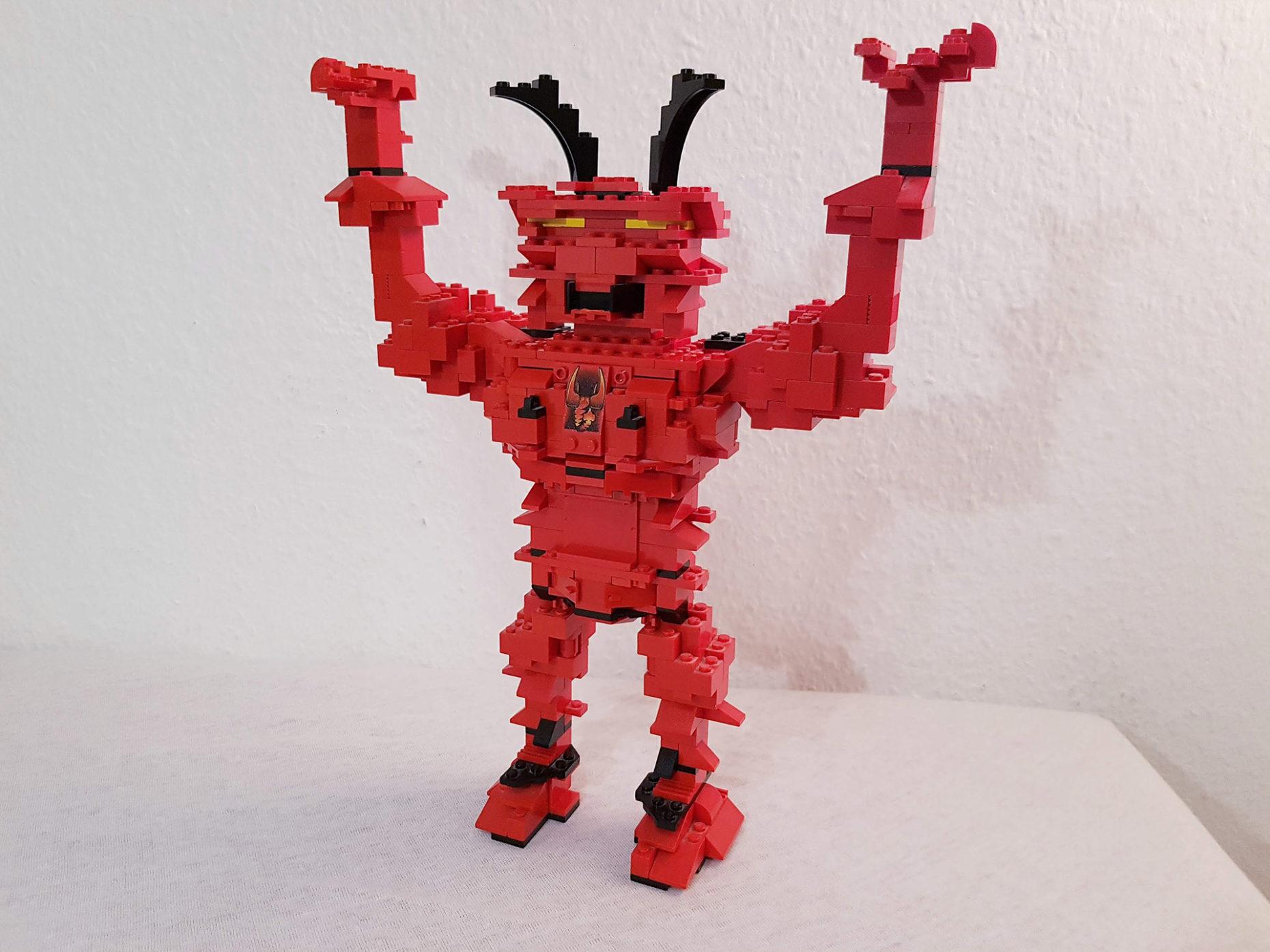 Supadupafly Devil - LEGO MOC - LEGO Teufel